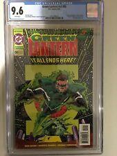 GREEN LANTERN V3 - 50 - CGC 9.6 - DC COMICS - 1994 - WHITE PAGES