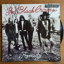 """Black Crowes-Remède 7"""" gravée Vinyle"""