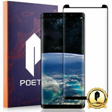 Poetic Full Coverage TPU Screen Protector for Samsung Galaxy Note 8 Black