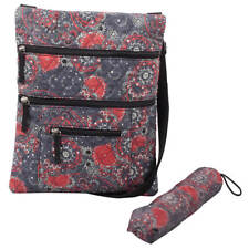 Quilted Crossbody Bag with Umbrella, Multi