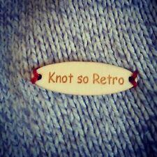 Crochet X20 sew on labels Australia map custom product Tags Knitting