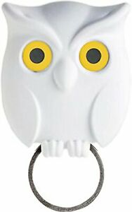 QUALY Key Storage Night Owl key Holder White 5217052WH Magnet from Japan AA3500