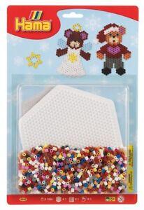 Hama Perlen Bügelperlen Weihnachtsmotiv Kreativ Spielzeug NEU NEW