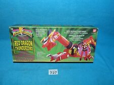 POWER RANGERS RED DRAGON THUNDERZORD BOXED ALL PARTS 727