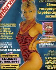 INTERVIU # 642 / TATJANA SIMIC SAMANTHA FOX CHERI DEAN Spanish mag 80's Complete