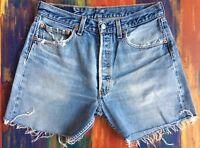 """Vintage Retro High waisted Denim Levi Levis Levi's Blue Shorts Size 10 30"""""""