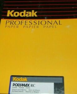Kodak Polymax Professional RC F Glossy B&W 250 Sheets 8X10SEALED