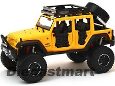 2015 JEEP WRANGLER UNLIMITED OFF ROAD KINGS 1:24 DIECAST BY MAISTO 32523 YELLOW