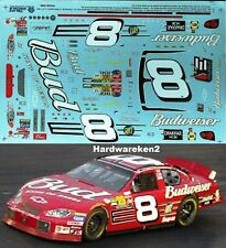 NASCAR DECAL # 8 BUDWEISER 2003 MONTE CARLO DALE EARNHARDT Jr. 1/24 SLIXX