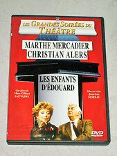 AU THÉÂTRE CE SOIR - Les Enfants d'Edouard - Marthe Mercadier/Christian Alers