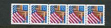 US 2913, 1995 32c FLAG OVER PORCH, PNC5 #66646, LO GLOSS, MNH (US071)