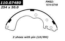Centric Parts 110.07480 Rear New Brake Shoes
