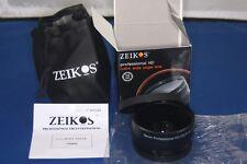 Zeikos ZE-WA58B Pro HD 0.45x Wide Angle Lens 58mm w Macro Free World  Ship