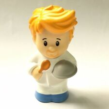 Cute Fisher-Price Little People Chef Cook Baker toddler figure Boy Toy