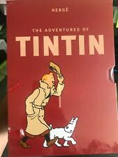 The Adventures of TINTIN 8 Book Set Collection Box Set-Herge, New slight blemish