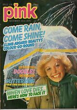 Pink Magazine 22 November 1975 No 139      Gary Glitter