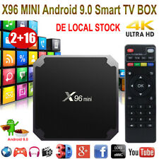 X96MINI Android 9.0 Quad Core Smart TV BOX 2+16G WIFI HDMI 4K 3D Movies Streamer