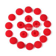 40pcs Soft Foam Cover Ear Pads Cushion for Sony iPod MP3 Earbud Earphones Red