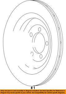 CHRYSLER OEM-Disc Brake Rotor 5290393AA