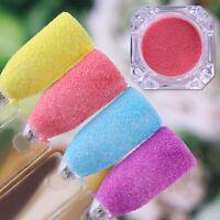 BORN PRETTY Pearlescent Glitter Powder Red Yellow Blue Purple Nail Art Dust