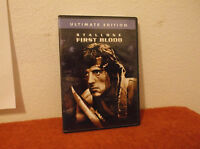 First Blood (DVD, 2004, Ultimate Edition)
