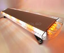 """Roof top 88W 88 LED 47"""" Emergency Flash Strobe Work Light Bar Amber White 12-24V"""