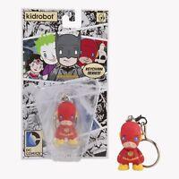 The Flash Vinyl Figure Kidrobot DC Universe Keychain NEW MOC