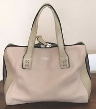 Olivia Harris Tribeca  by Gryson Leather Satchel doctor handbag cream off White