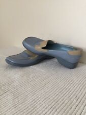 Retro Carvela 60/70s Leather Moccasins Loafers Brogues Smart Casual Blue UK4  37