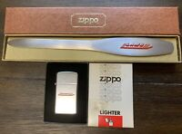 "Vintage RARE 1980 ""LAMB"" ZIPPO LIGHTER & LETTER OPENER IN BOX!"