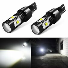 JDM ASTAR 2x 921 912 30W 6000K White Back Up Reverse LED Lights Backup Bulbs