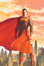 """Superman #675 Alex Ross Cover 24"""" X 36"""" Poster 2008 DC Direct New Rolled"""