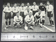 BERLIN 1936 JEUX OLYMPIQUES OLYMPIC GAMES FOOTBALL EQUIPE POLOGNE POLSKA