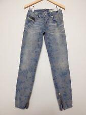 Diesel Grupee super slim skinny taille basse Star jeans 0606 M W25 L32