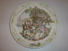 """Royal Doulton Owl & Pussycat Plate, """"Tree House"""""""