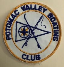 vintage potomac valley boating club patch