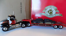MACK GRANITE WITH  LOWBOY TRAILER & LOAD FIRST GEAR 1ST 1/34  COLLECTOR CLUB