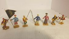 7 Metal Toy Soldiers- Japanese Figures (163)