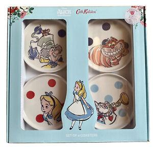 Cath Kidston Disney Alice in Wonderland Coasters Limited Edition