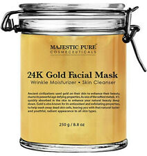 Majestic Pure Gold Facial Mask, Help Reduces the Appearances of Fine Lines and W