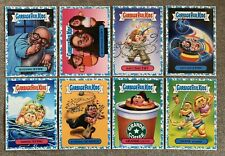 "2017 Garbage Pail Kids ""Battle Of The Bands"" Lot of 8 Blue Parallels Cards MINT"