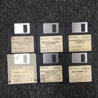 """IBM 3170-O1C Data Thruprint 6 3.5 3 1/2"""" Floppy Disk Set"""