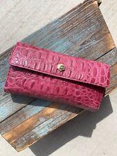 Lodis Pink Animal Print Checkbook Wallet Organizer Clutch Bag Wallet