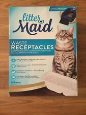 LitterMaid Waste Receptacles for Litter Box, Sealable Waste Receptacles 18-count