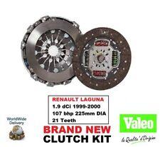 VALEO Kit embrayage pour Renault Laguna 1.9 DCI 1999-2000 107 BHP 225mm diamètre
