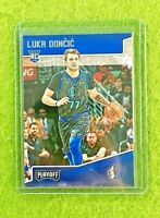 LUKA DONCIC ROOKIE CARD JERSEY #77 MAVERICKS RC 2018-19 Panini Chronicle PLAYOFF
