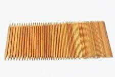 "75Pcs Bamboo Double Pointed Knitting Needles 8"" (15 Sizes) Set Lot FREE SHIPPING"