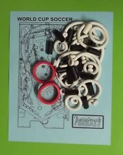 1994 Bally / Midway World Cup Soccer pinball rubber ring kit WCS