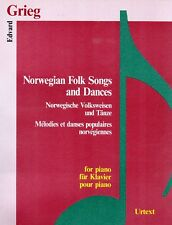 Norwegian Folk Songs Dances Edvard Grieg Konnemann Music Piano Sheet Music P0493