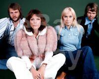 "ABBA ""Group"" Agnetha Faltskog, Bjorn, Benny, Anni-Frid Lyngstad 10x8 Photo"